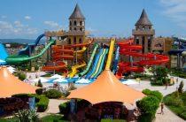 Аквапарк Action на курорте Солнечный Берег