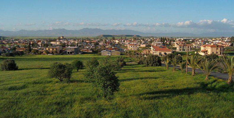 Деревня Афиену. Кипр