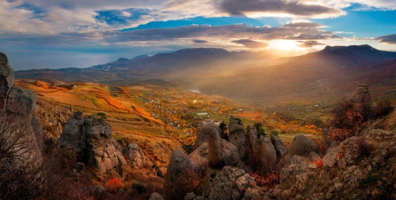 Долина Привидений в Алуште