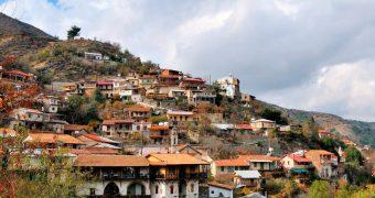 Горная Деревня Калопанайотис. Кипр