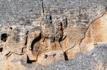 Мадарский всадник. Наскальный барельеф в Болгарии