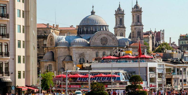 Район Бейоглу. Стамбул