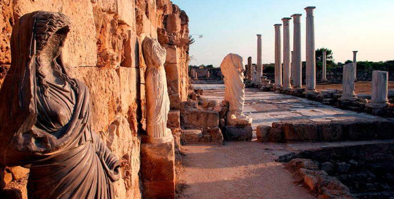 Северный Кипр. Античный город Саламис