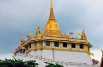 Ват Сакет или храм Золотой горы в Бангкоке