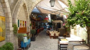 Уличное кафе в Лимассоле